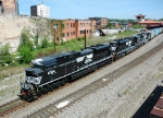 NS 141 with three SD70M-2's